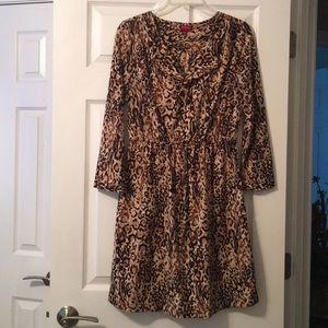 Gorgeous leopard dress!